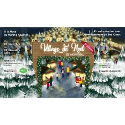 Le gouvernement du Québec soutient la tenue du Village de Noël de Montréal