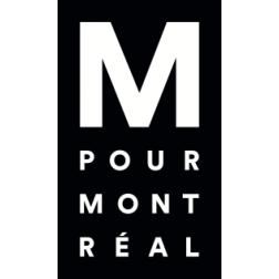 Une identité visuelle plus transparente pour M pour Montréal