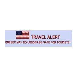 Un site internet suggère aux touristes d'éviter le Québec