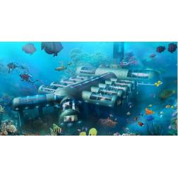 Il veut construire un hôtel sous-marin futuriste!