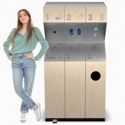 Sanistops - Enfin une station sanitaire esthétique et durable!