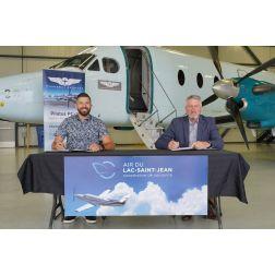 Air du Lac-Saint-Jean et Panorama Aviation signent une lettre d'intention
