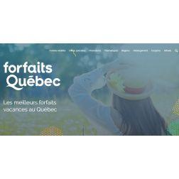 Promotion ForfaitsQuébec.com - 15% de rabais! RÉSERVEZ avant le 15 juin