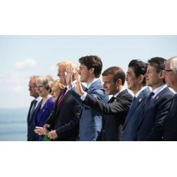 Le coup médiatique de la semaine: sommet du G7 (juin 2018)