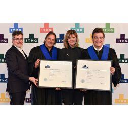 DISTINCTION: l'ITHQ décerne un diplôme honoris causa à Robert Mercure et Daniel Vézina