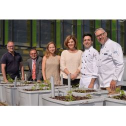 Le laboratoire sur l'agriculture urbaine (AU/LAB) et l'ITHQ, un partenariat qui allie agriculture et gastronomie