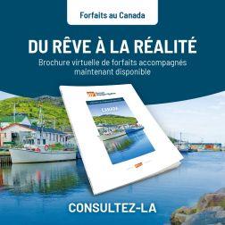 Groupe Voyages Québec lance sa nouvelle brochure CANADA 21-22