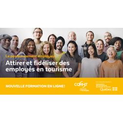 Nouvelle formation virtuelle du CQRHT : attirer et fidéliser des employés en tourisme