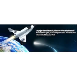 L'espace : nouvelle destination pour les Québécois