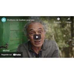 «Profitons de Québec pour eux» Campagne  OTQ