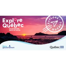 Explore Québec et Accès Régions –Découvrez ces 2 programmes visant à stimuler le développement touristique en régions éloignées