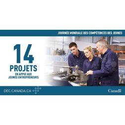 Développement économique Canada pour les régions du Québec investit dans les jeunes entrepreneurs plus de 3,1 M$