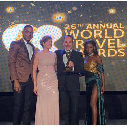 DISTINCTION: Au Diable Vert aux World Travel Awards