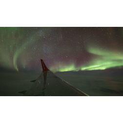 Le premier vol d'observation d'aurores boréales au Yukon: un succès