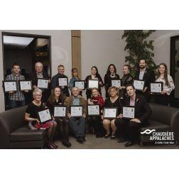 Les 15 lauréats de la 34e édition des Grands Prix du tourisme de Chaudière-Appalaches