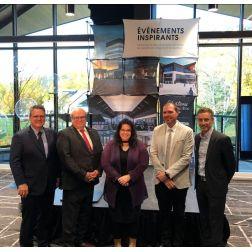 Le Centre des congrès Mont-Sainte-Anne officiellement inauguré la semaine dernière