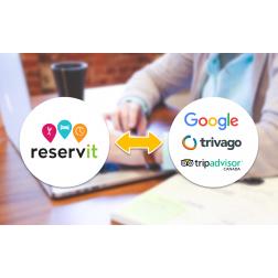 Reservit - Connectez-vous à Google, Trivago et TripAdvisor