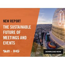 New Skift Report: The Sustainable Future of Meetings and Events