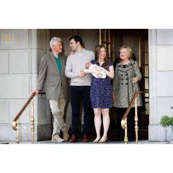 Les Clinton en vacances au Québec à l'invitation de l'auteure Louise Penny