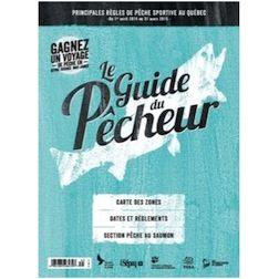 Le Guide du pêcheur : retour de la réglementation de pêche sportive en version imprimée