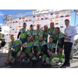 L'équipe Château Mont Sainte-Anne termine deuxième au 24 H cyclisme Tremblant