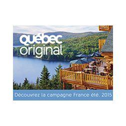 Lancement de la campagne France été 2015 de QuébecOriginal