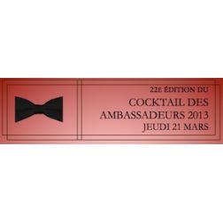 Cocktail des Ambassadeurs de l'Industrie Touristique