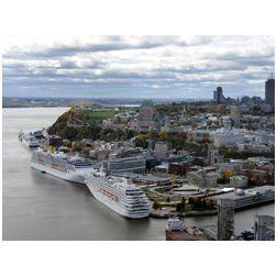 162 000 visiteurs au Port de Québec en 2012