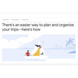 T.O.M.: Google franchit une nouvelle étape dans sa conquête du Voyage (mai 2019)