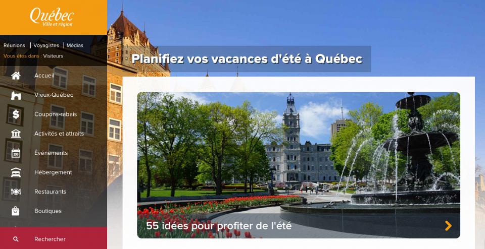 L 39 office du tourisme de qu bec est la recherche d 39 une agence num rique - Office de tourisme quebec ...