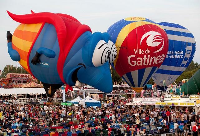 montgolfiere quebec festival